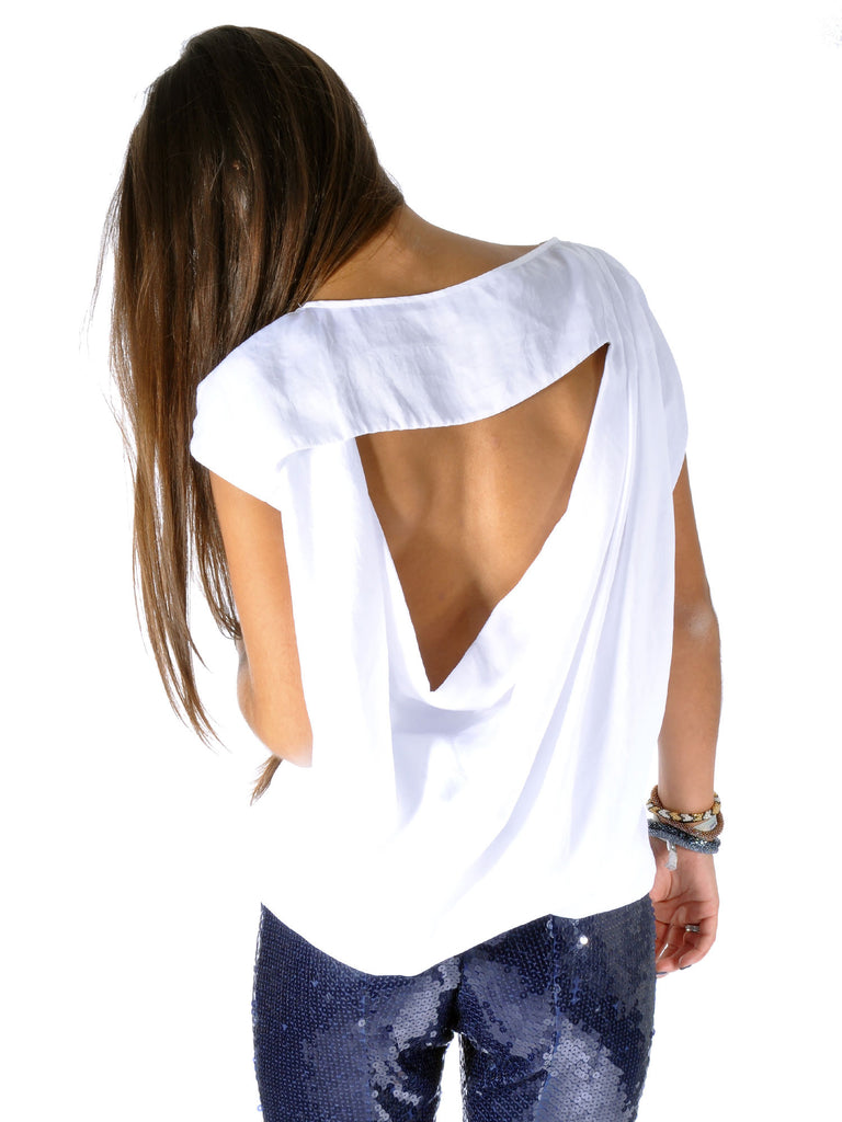 MICHAEL Michael Kors Open Back Top