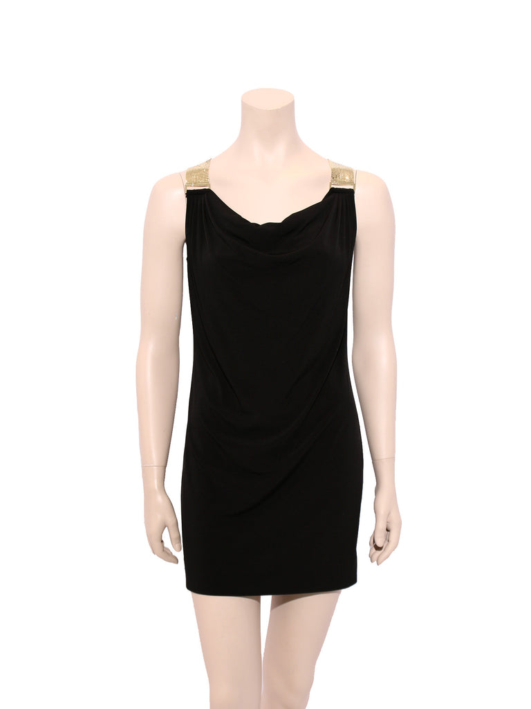 Michael Kors Mesh Strap Jersey Dress
