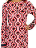 MICHAEL Michael Kors Geometric Print Dress