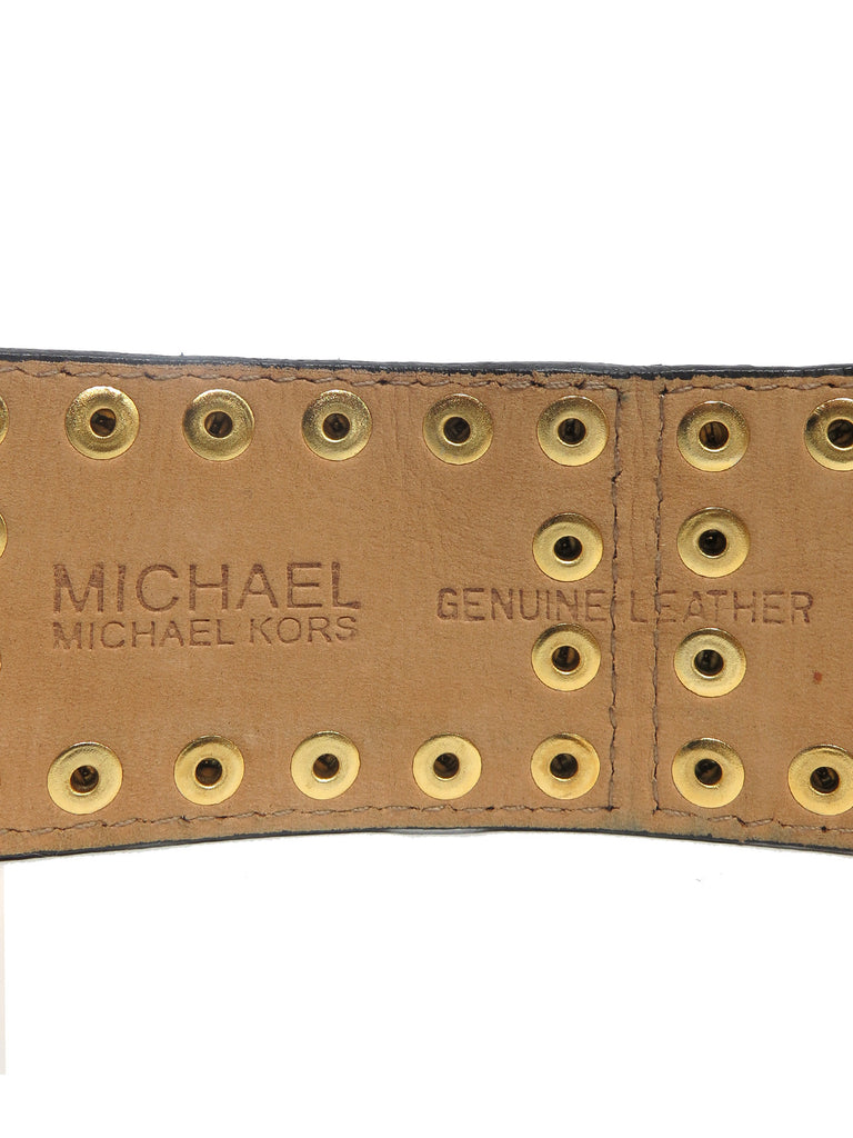 MICHAEL Michael Kors Studded Leather Belt