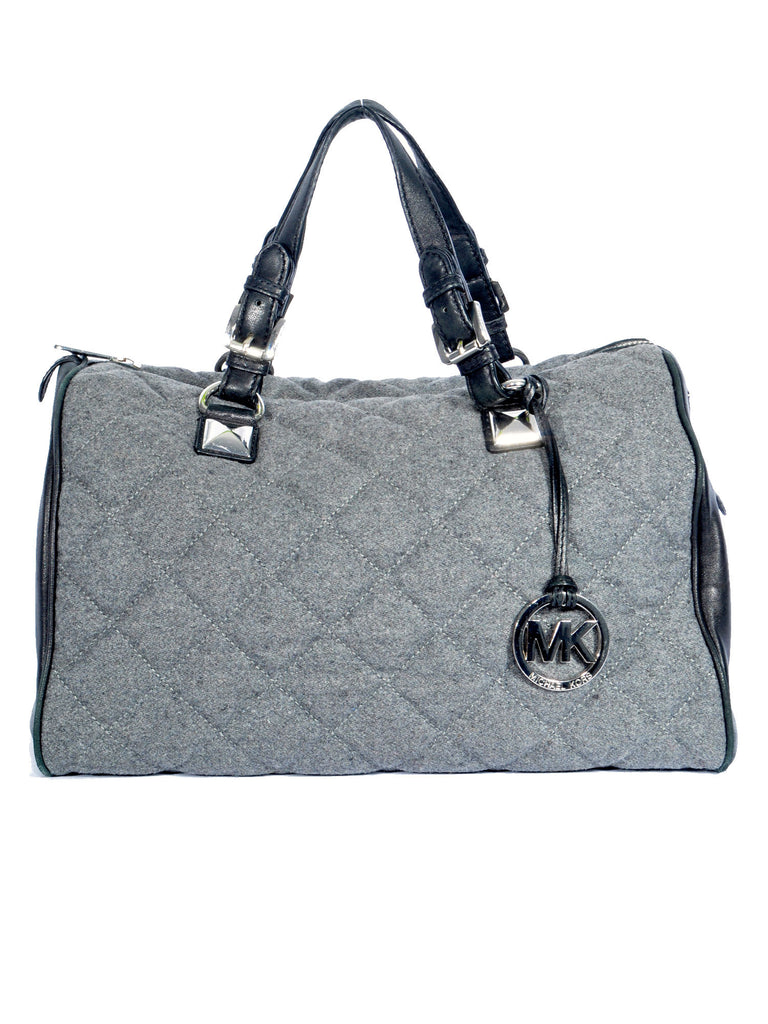 MICHAEL Michael Kors Grayson Large Quilted Satchel