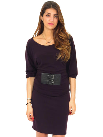 MICHAEL Michael Kors Sash Belt Jersey Dress