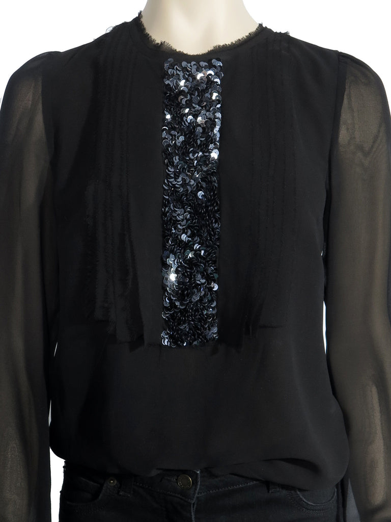 Michael Kors Sequin Top