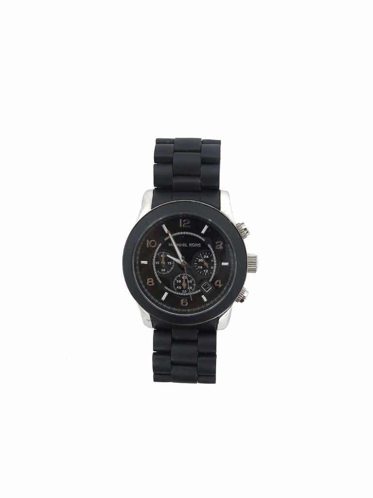 MICHAEL Michael Kors Runway Oversize Silicone-Wrapped Watch