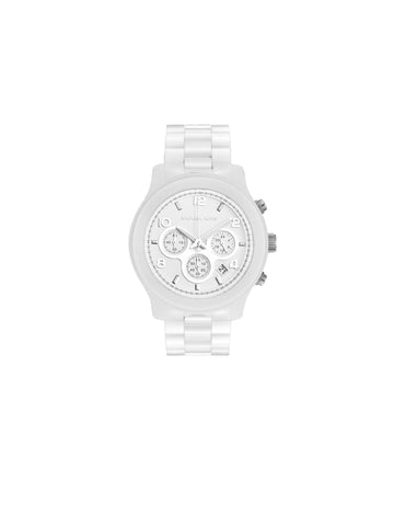 MICHAEL Michael Kors Oversize Ceramic Chronograph Watch