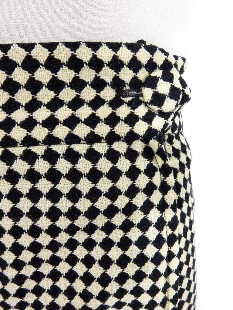 Moschino Couture Check Skirt