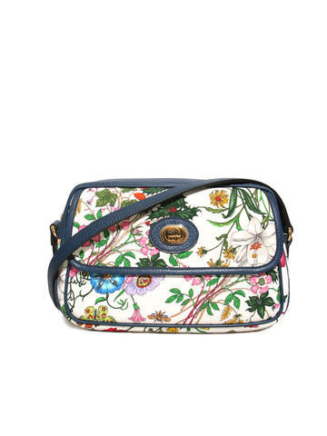 Gucci Flora Canvas Cross Body Bag