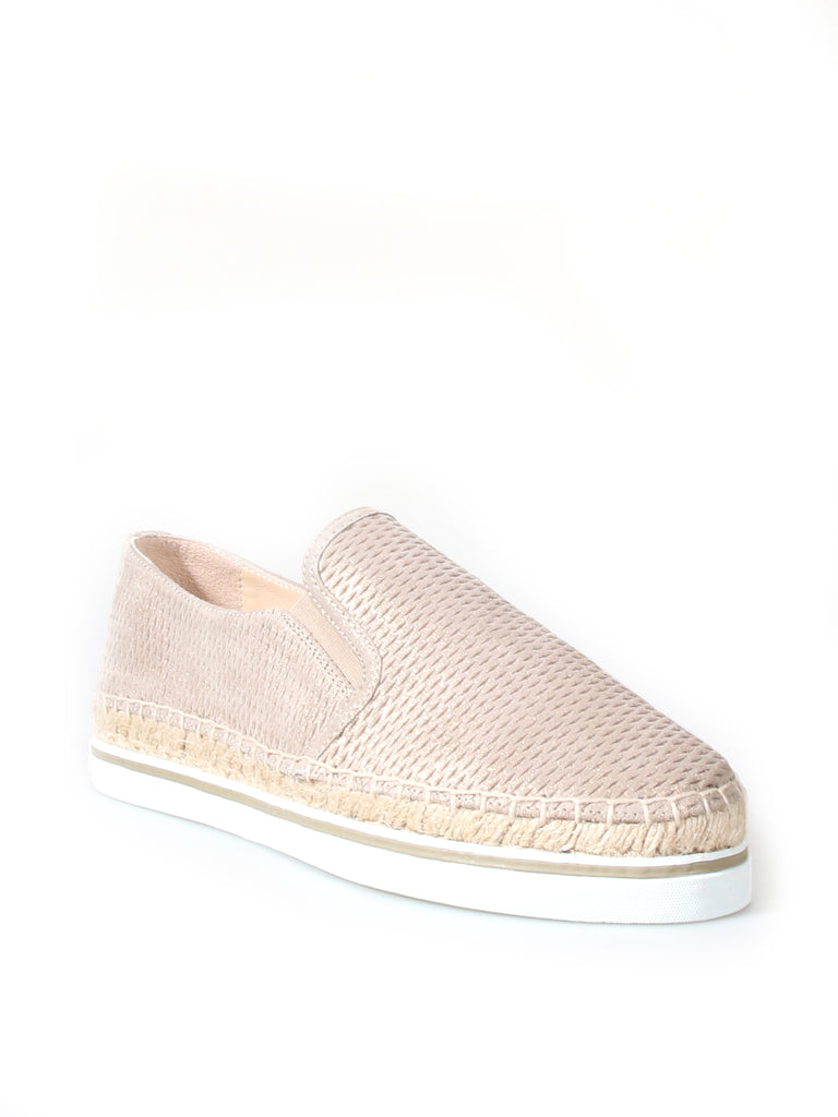 Jimmy Choo Metallic Embossed Suede Dawn Espadrilles