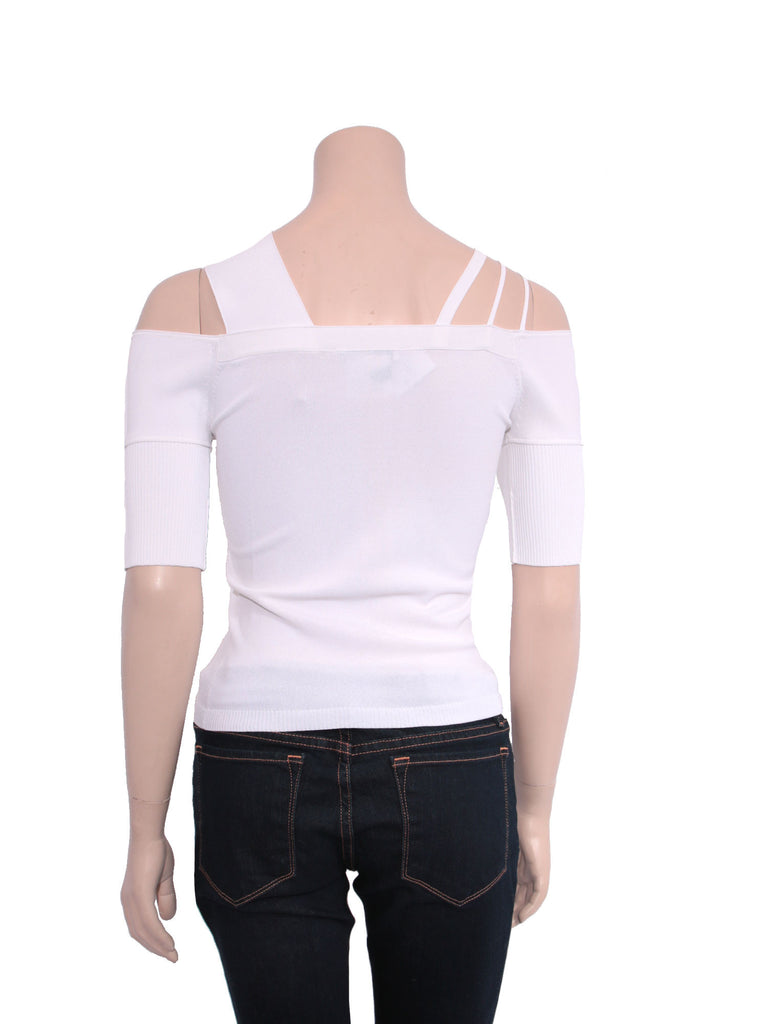 Givenchy Off-Shoulder Stretch Knit Top