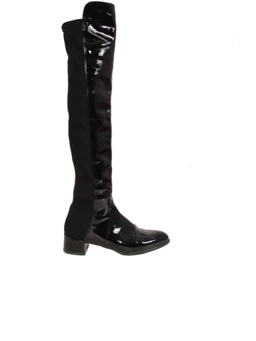 Stuart Weitzman Fifo Over-The-Knee Patent Boots