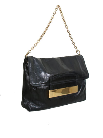 Jimmy Choo Eel Skin Shoulder Bag