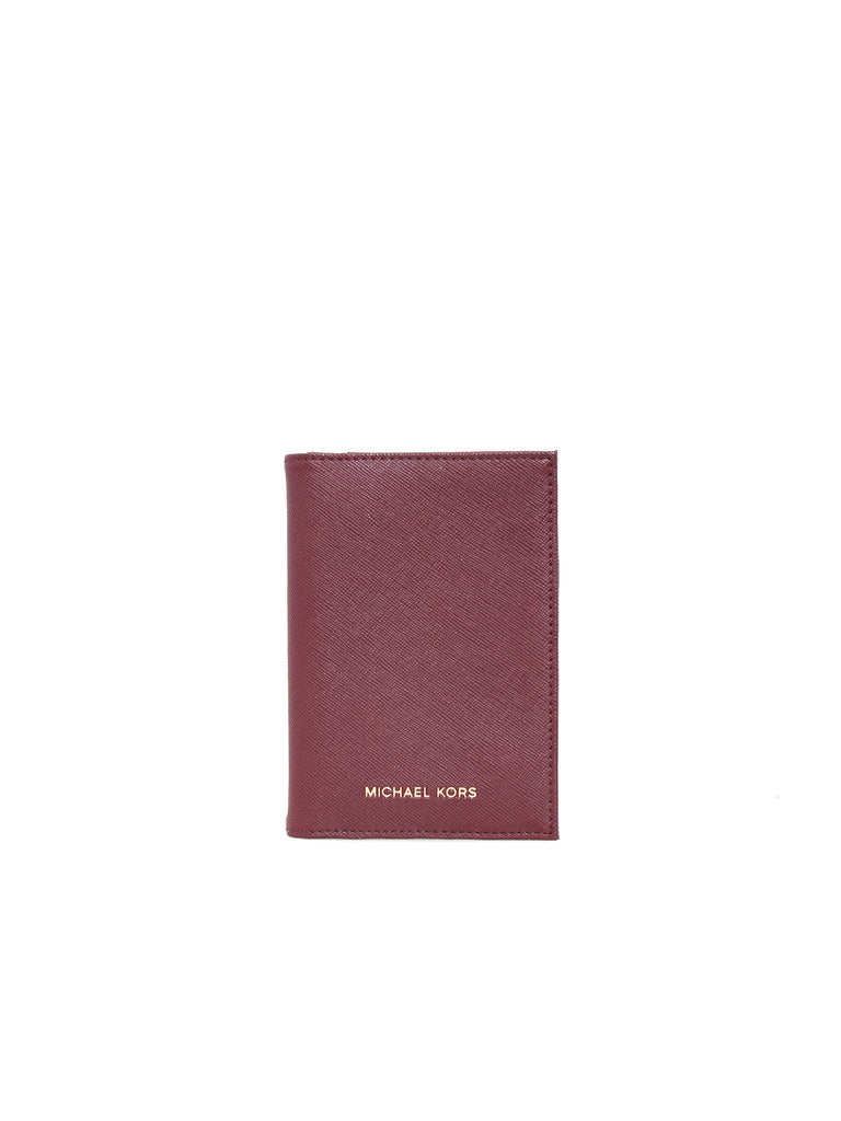 2badc69fb004 Michael Kors Jet Set Travel Saffiano Leather Passport Case ...