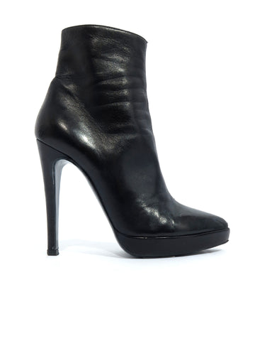Pierre Hardy Pointed Leather Booties