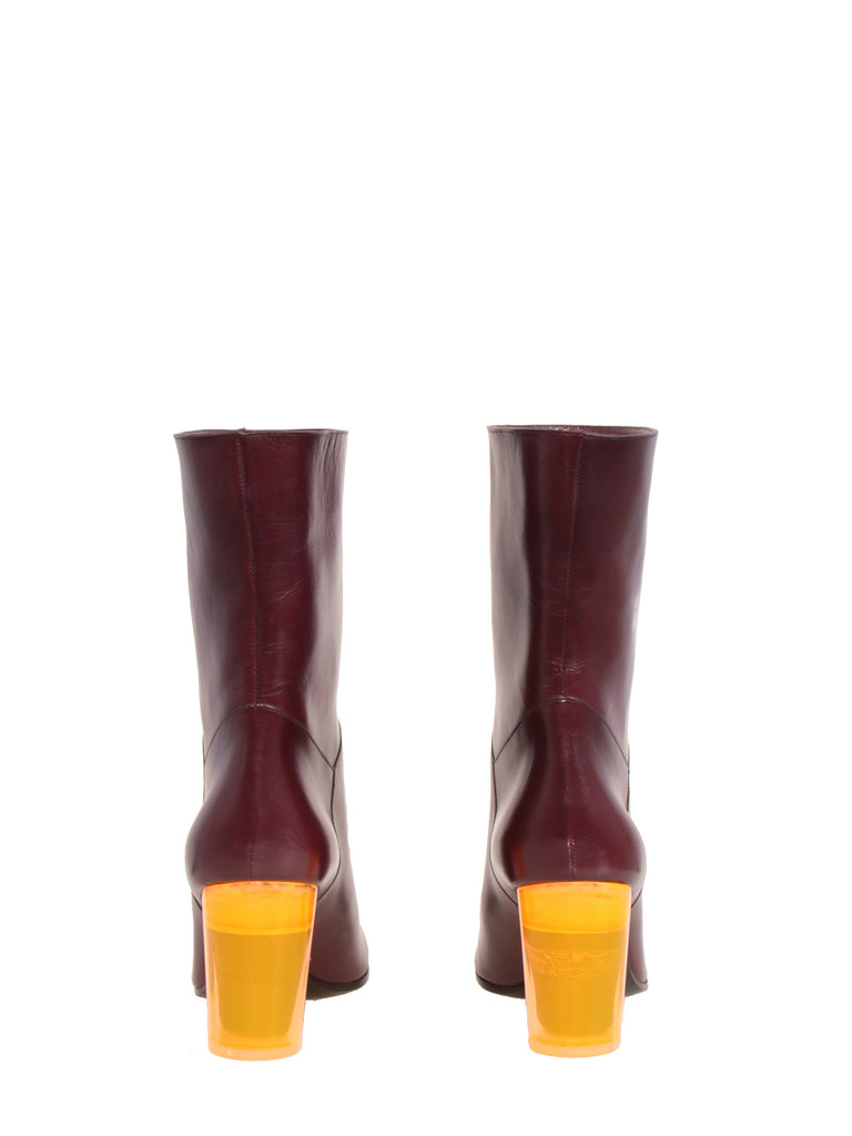 Marc Jacobs Lucite Heel Booties