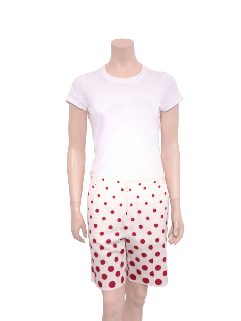 Miu Miu Polka Dot Shorts