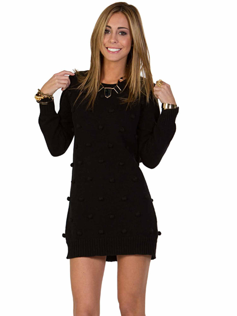 Minkpink Bobble Knit Dress