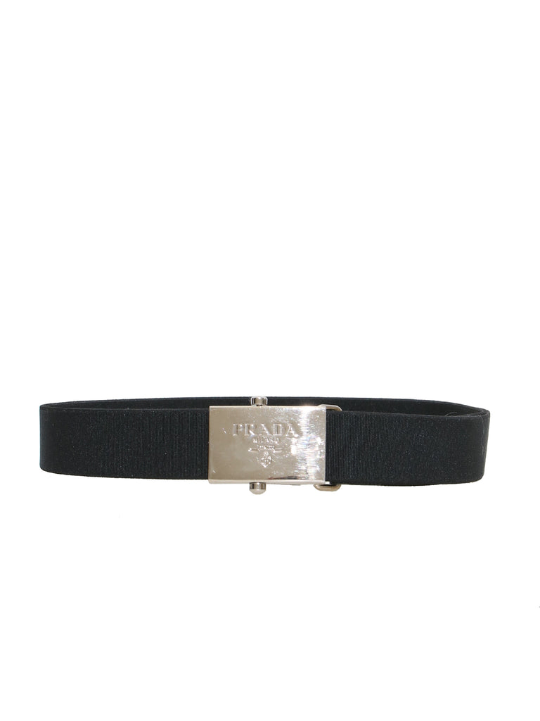 Prada Elasticized Buckle Belt