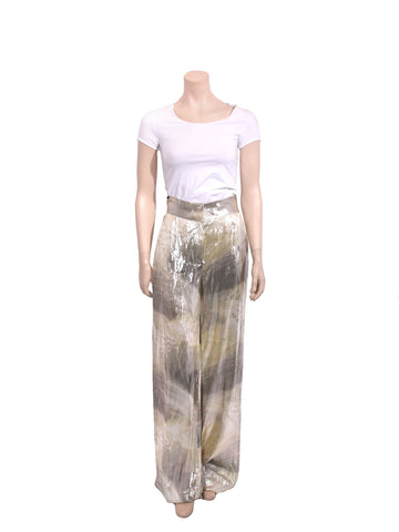 Fendi Metallic Pants