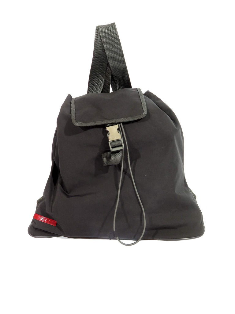 4e4e304a793109 Pre-owned Prada Sport Drawstring Backpack | Sabrina's Closet