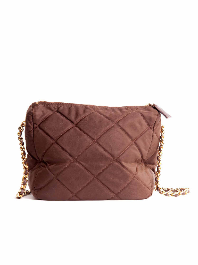 Prada Quilted Chain Shoulder Bag