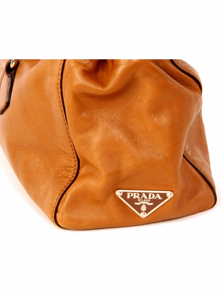 Prada Leather Buckle Bag