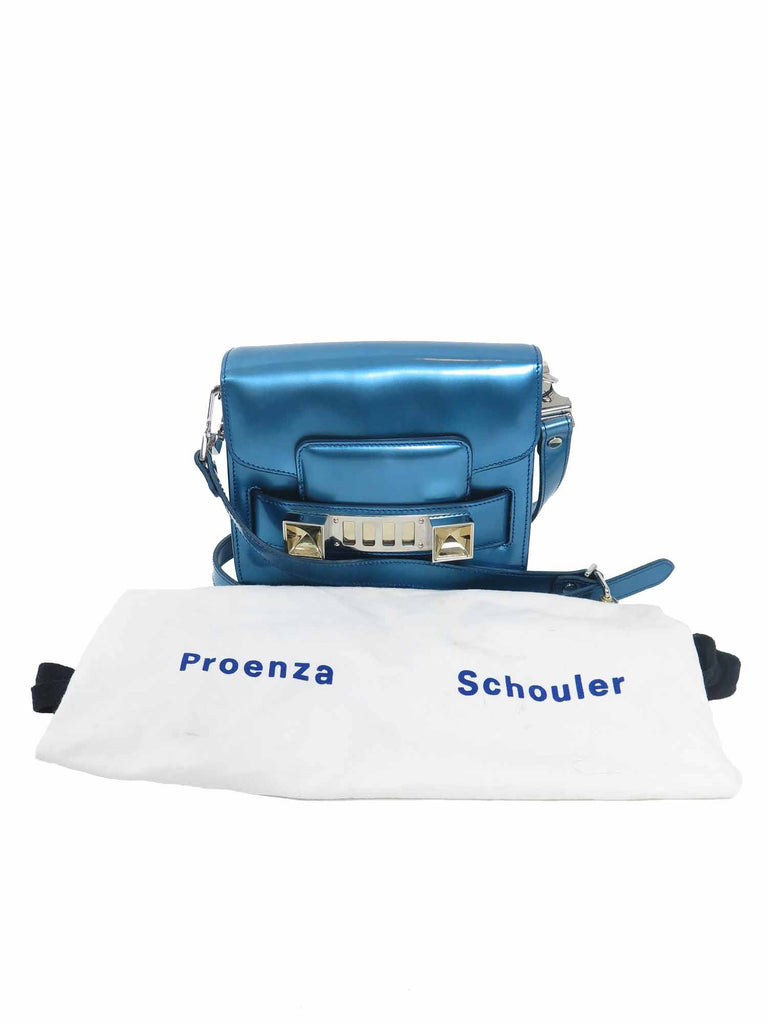 Proenza Schouler Leather PS11 Tiny Crossbody Bag