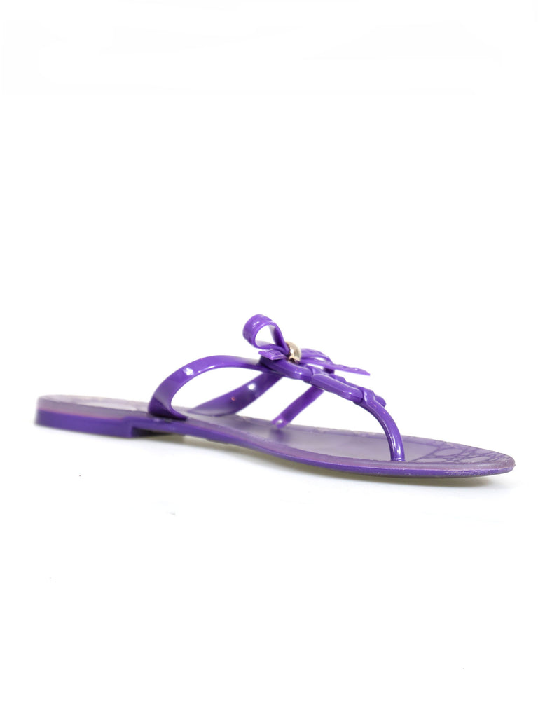 Christian Dior Rubber Flat Sandals
