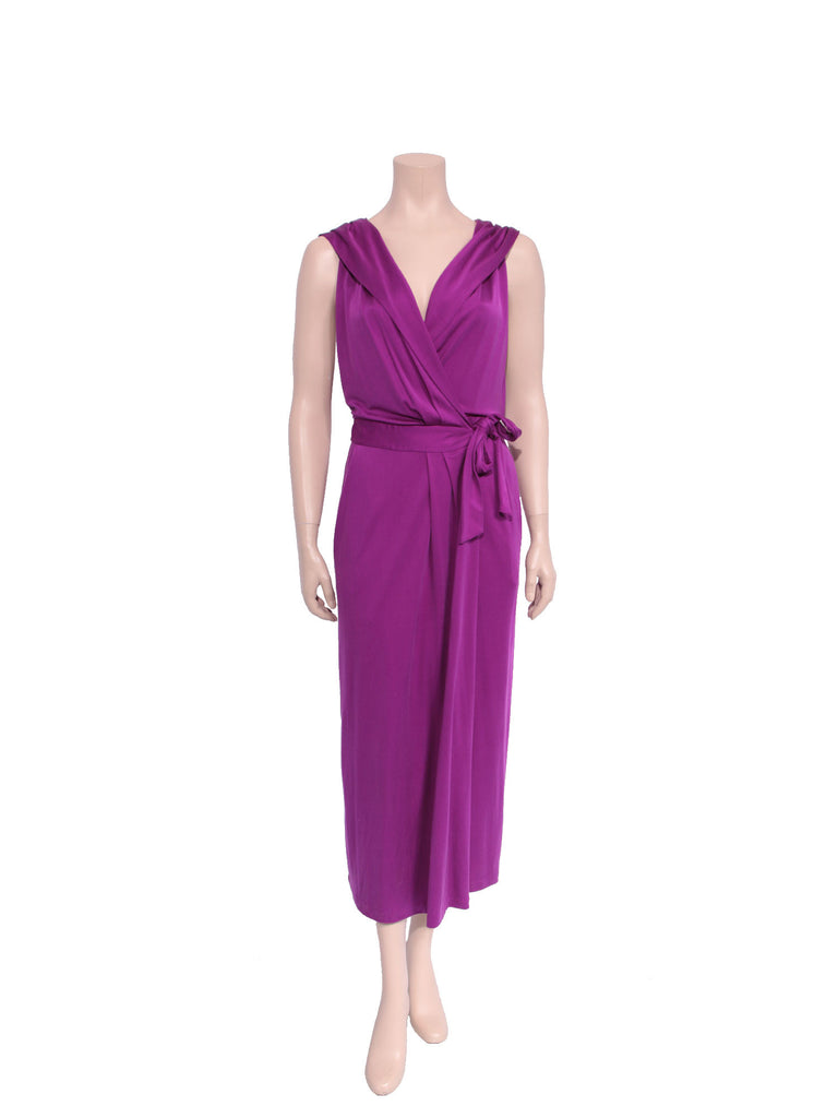 DVF Hooded Avram Wrap Dress