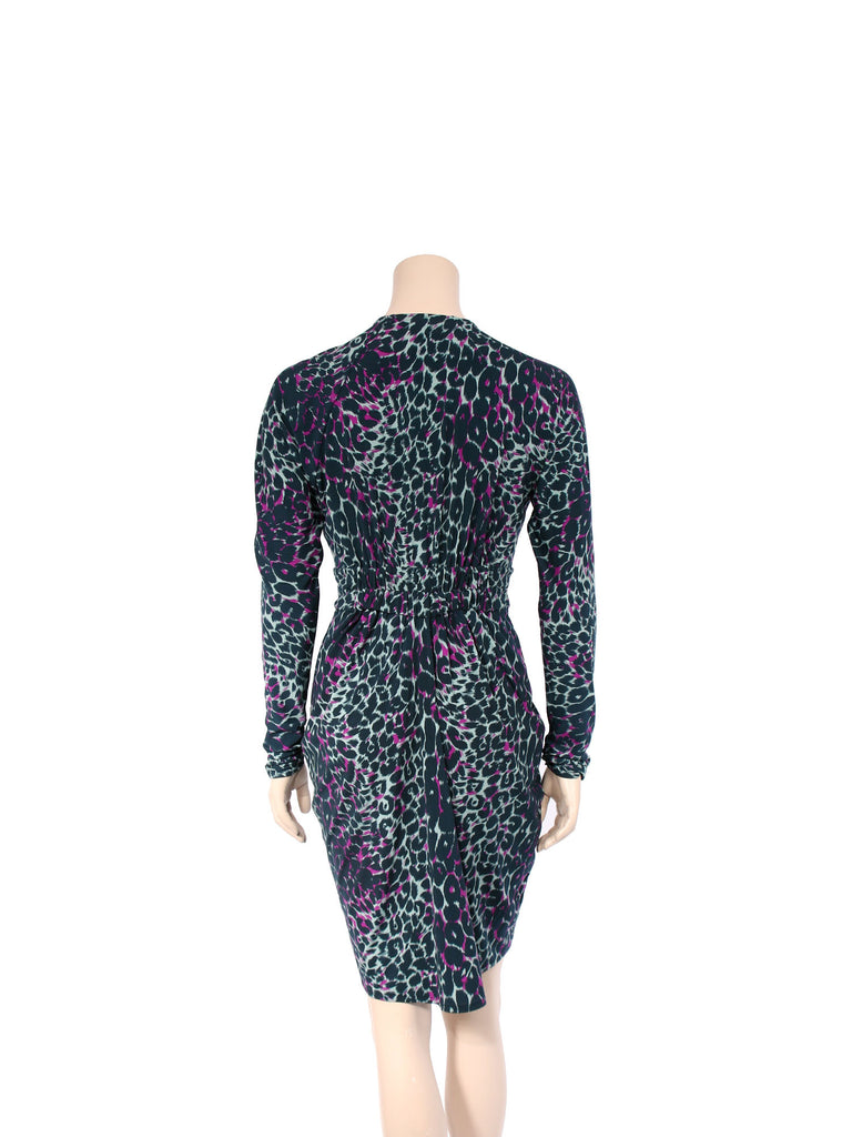 BCBG MaxAzria Leopard Jersey Dress