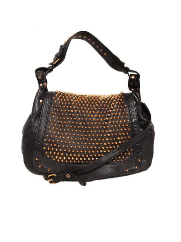 Rebecca Minkoff Studded Leather Messenger Bag