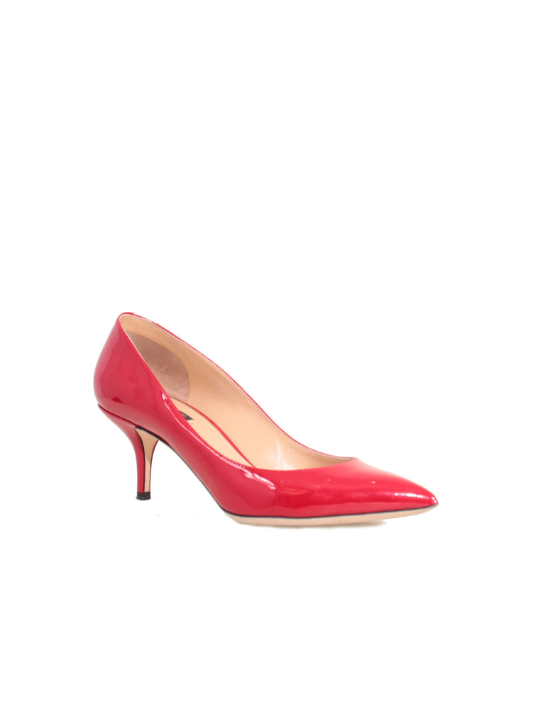 Dolce & Gabbana Patent Pointed Pumps