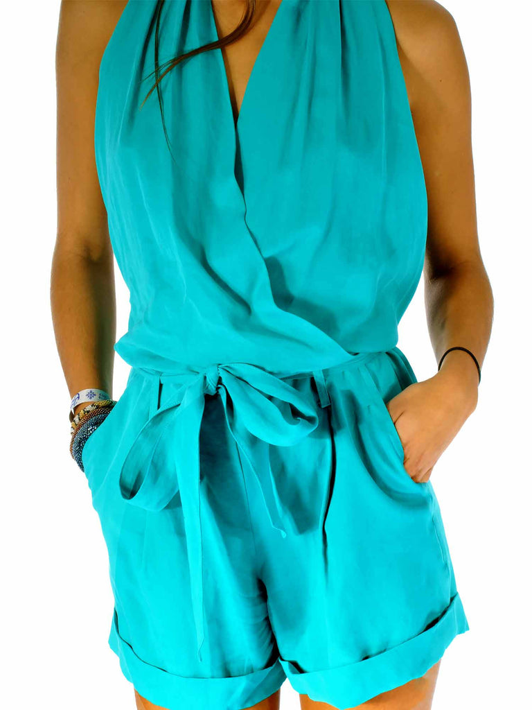 Robert Rodriquez Backless Romper