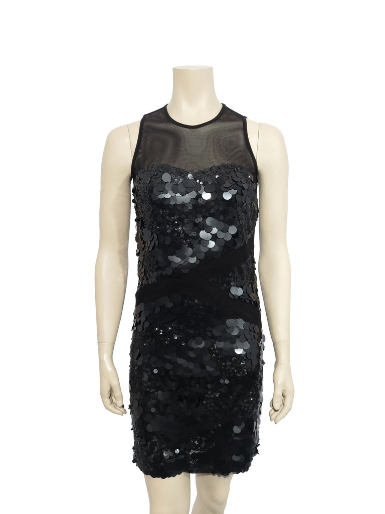 Robert Rodriguez Sequin Mesh Dress