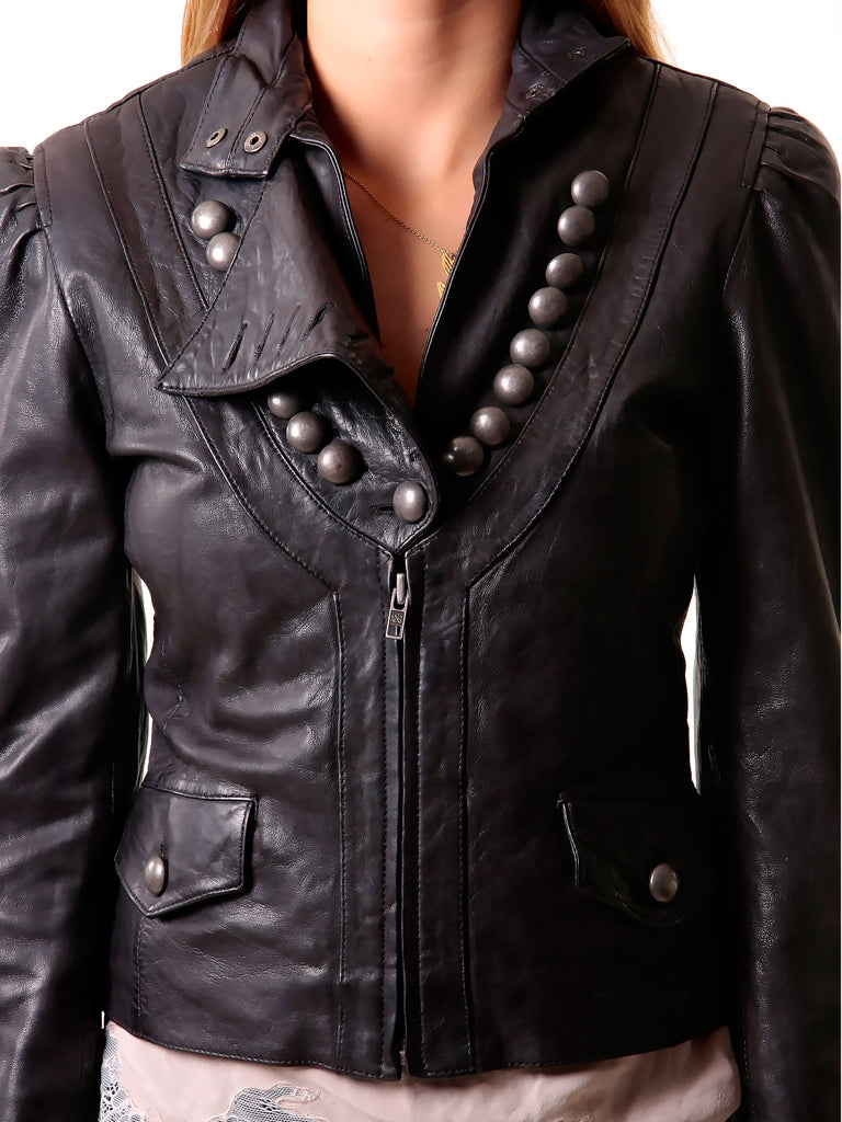 Rock & Republic Brooklyn Studded Leather Jacket