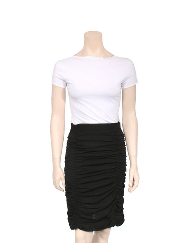 Moschino Ruched Skirt