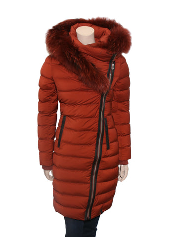 Rudsak Melodic Down Puffer Jacket with Fur
