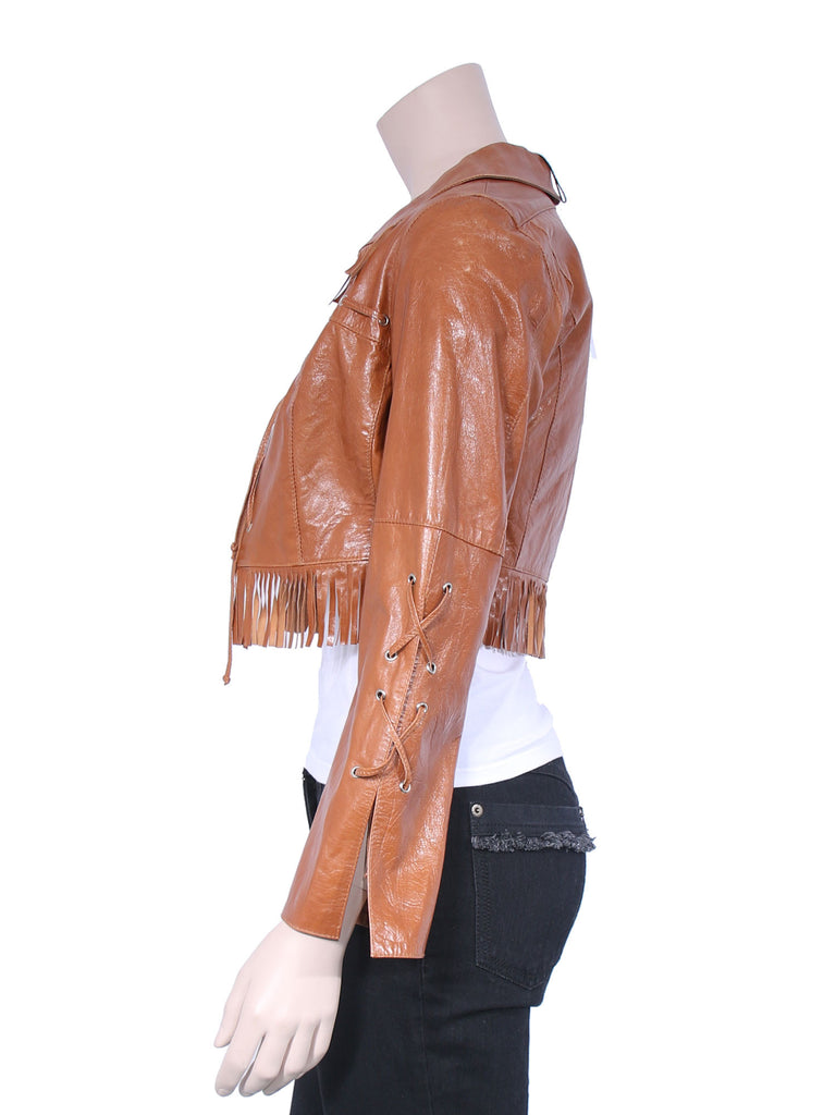 Rudsak Fringe Leather Jacket