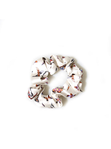 Recycled Louis Vuitton Fabric Scrunchie
