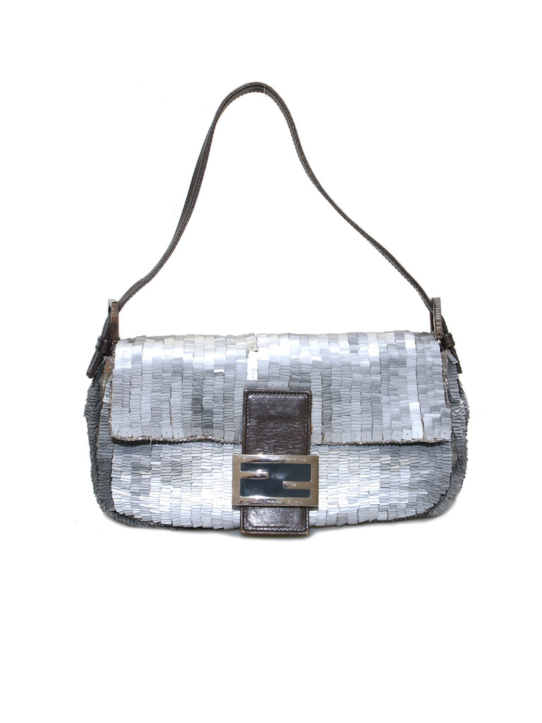 Fendi Sequin Baguette Bag