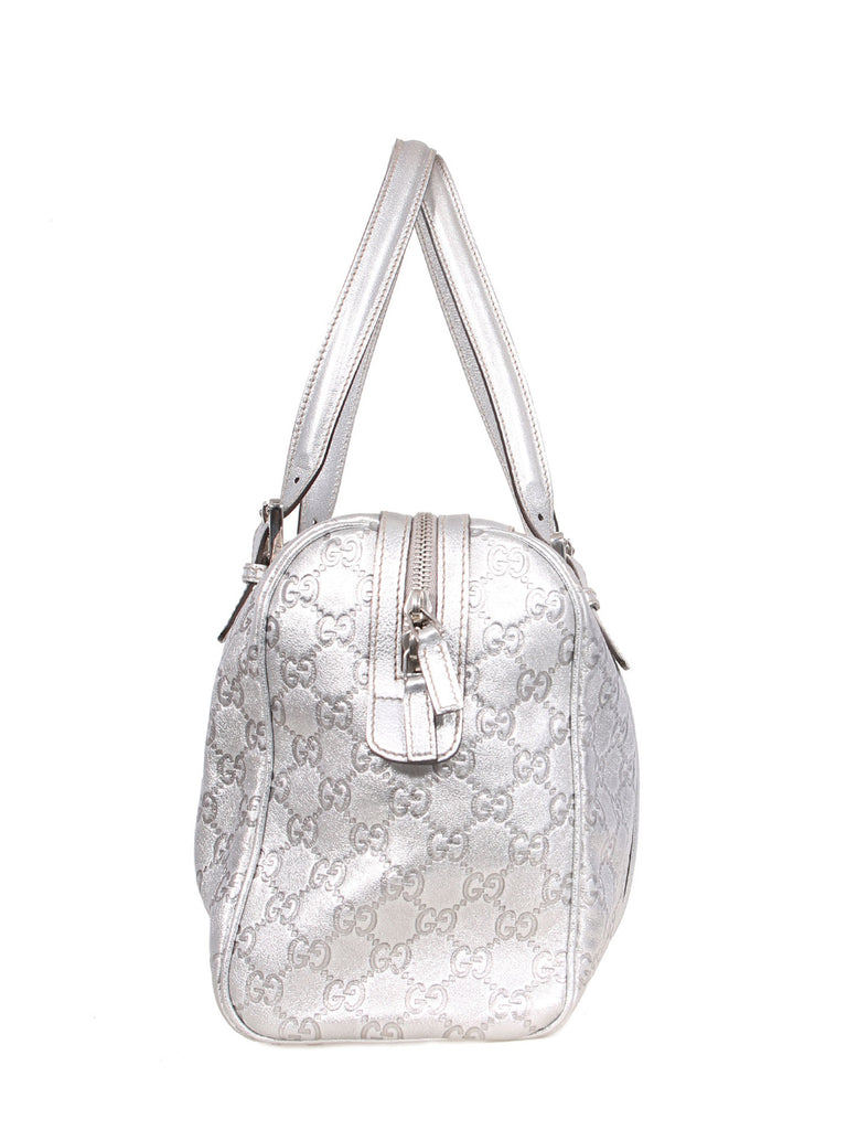 Gucci Metallic Guccissima Tote Bag