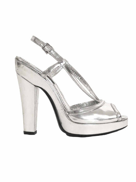 Burberry Metallic Sandals