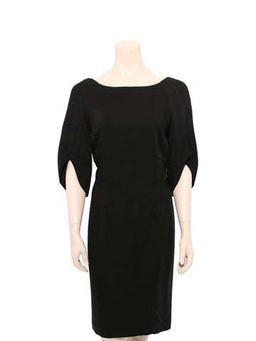 Zac Posen Slit Sleeve Dress