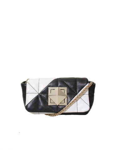 Sonia Rykiel Quilted Leather Cross Body Bag