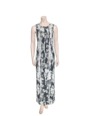 Haute Hippie Snake Print Maxi Dress