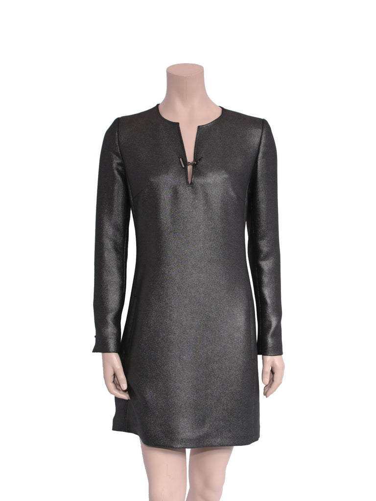 Barbara Bui Metallic Shift Dress