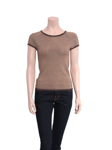 Giorgio Armani Striped T-Shirt