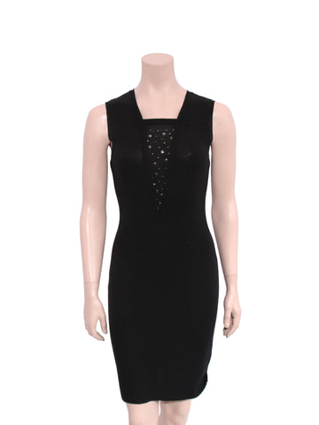 Moschino Studded Knit Dress
