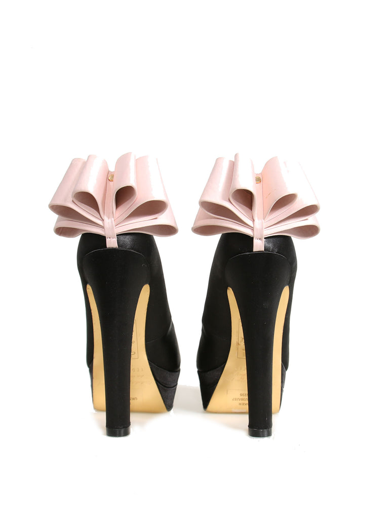 Ted Baker Satin Bow Pumps