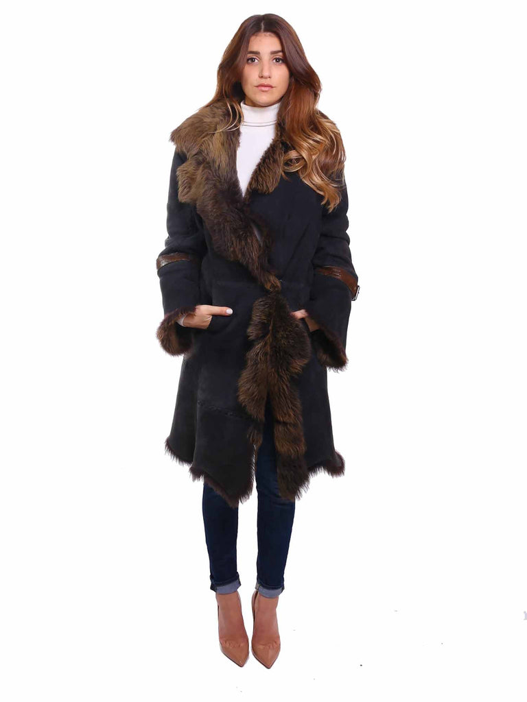 Long Shearling Coat