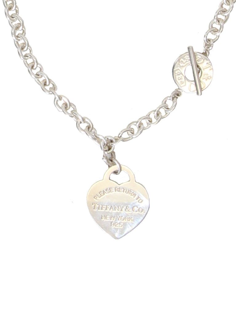 2159b977a2 Pre-owned Tiffany & Co. Return to Tiffany Heart Tag Necklace ...